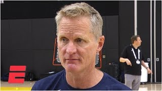 Steve Kerr reacts to DeMarcus Cousins' demoralizing injury   FIBA World Cup
