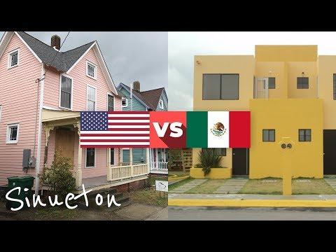 Diferencias Entre Las Casas En EEUU y En México