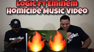 Logic   Homicide Ft. Eminem (REACTION) 🔥
