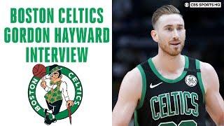 Boston Celtics All-Star Gordon Hayward Interview about the NBA Bubble in Orlando | CBS Sports HQ