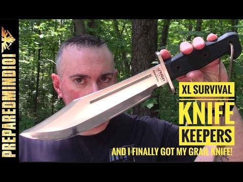 FAQ: XL Survival Knife Keepers/I Got My Grail Knife! – Preparedmind101