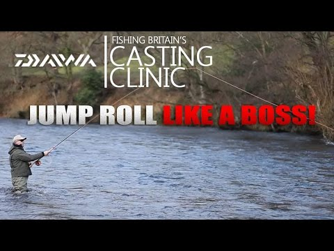 How to do a jump roll with a salmon rod