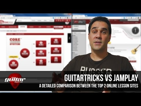 Guitar Tricks vs JamPlay Review – What's the Difference?