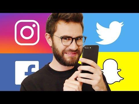 Lidé na sociálních sítích
