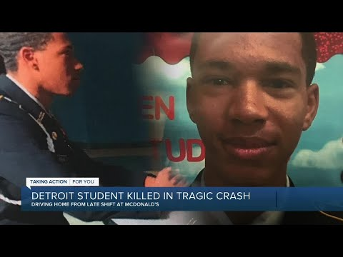 Detroit student killed in tragic crash