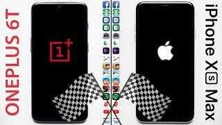 OnePlus 6T vs iPhone XS Max Speed Test