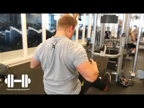 Seated Cable Rear Delt Row