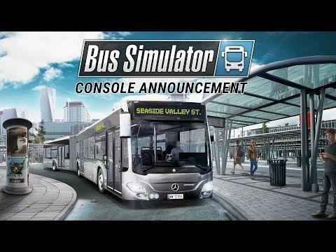 Bus Simulator - Console Announcement Trailer (EN) thumbnail