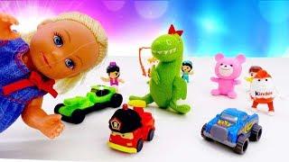 У Штеффи убежали игрушки. Куклы Барби: видео для девочек с игрушками.