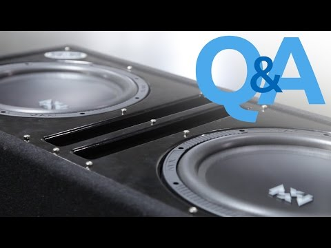 What Is Subwoofer Break In?   Should You Break In Your Subwoofers?   Car Audio Q&A