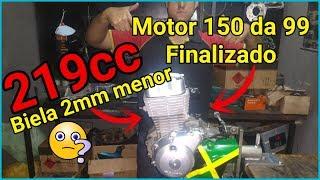 219cc - Motor Titan 150 Da CG 99 Finalizado