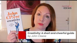 Day 1: Creativity by John Cleese - Speedier Reads #12DaysofChristmas Book Reviews