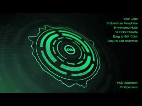 Videohive Hud Audio Spectrum Music Visualizer » free after