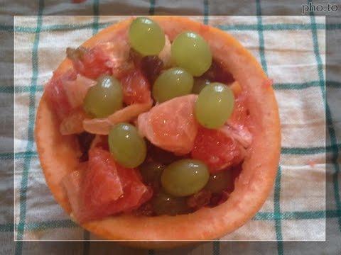 Салат фруктовый рецепт.Фруктовый салат фото.