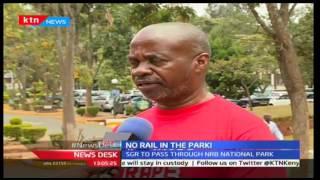 News Desk 16th September 2016: Conservationists protest SGR passing through Nairobi National Park