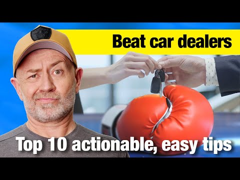 Top 10 Ways to Beat a Car Dealer   Auto Expert John Cadogan   Australia