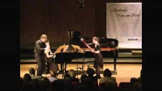 Francis Poulenc: Trio für Oboe, Fagott und Klavier (trio for oboe, bassoon and piano)