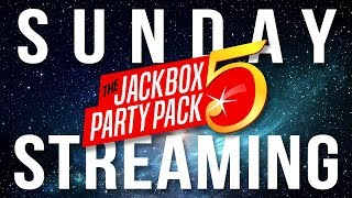Sunday Streaming - The Jackbox Party Pack 5