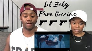 Lil Baby - Pure Cocaine (Official Music Video) - REACTION