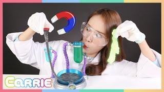 슬라임 팩토리 장난감 캐리의 액체괴물 만들기 놀이 CarrieAndToys