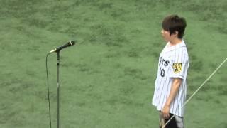 H28.03.25国家独唱TMR西川貴教阪神×中日開幕戦京セラドーム
