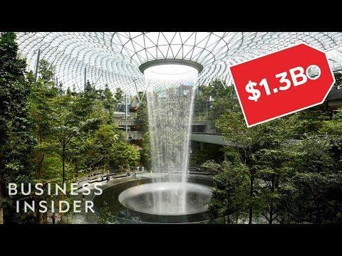 Jewel Changi, aerodrom u Singapuru sa vodopadom od 40 metara (VIDEO)