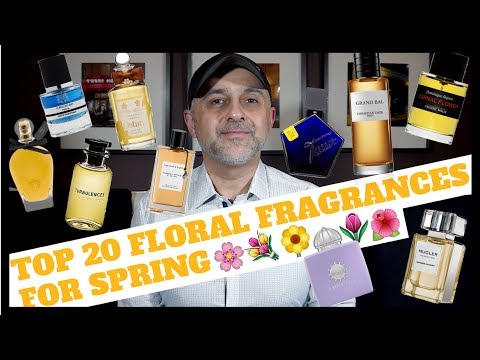 Top 20 Floral Fragrances Perfumes for Spring | Floral Perfumes To Wear This Spring