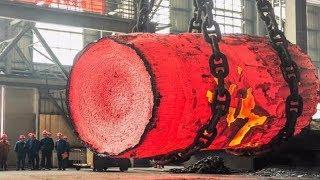 Download Video Dangerous Biggest Heavy Duty Hammer Forging Process, Fastest Hydraulic Steel Forging Machine MP3 3GP MP4