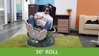 DIY 6DOF Motion Platform - FlyInside FSX - Oculus Rift CV
