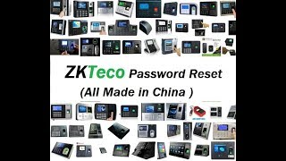 zkteco f18 reset - Free video search site - Findclip Net