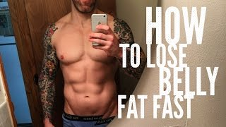 How To Lose Belly Fat FAST- Get Rid Of Your Beer Belly Now!