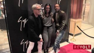 Giuseppe Zanotti Opens Boutique In Atlanta, Stars Show Support