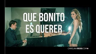 Que Bonito Es Querer   Ulices Chaidez Y Sus Plebes (Carolina Ross Cover)