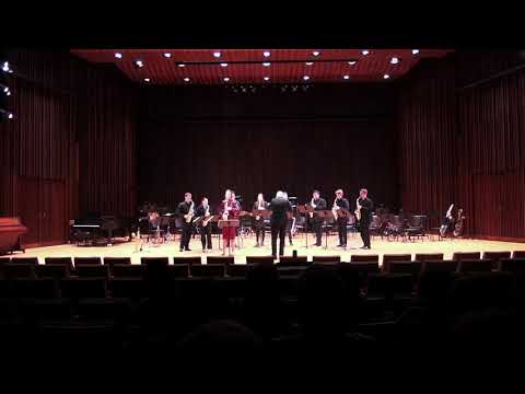 Performance at the 2019 North American Saxophone Alliance Region 4 Featured Concert