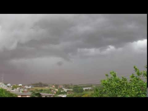 A chuva chegando em Boa Vista do Buricá RS