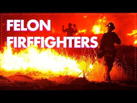 Richard Wolff On The Slave Labour Of Californian Inmate Firefighters