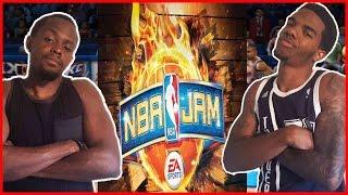 GET BLOCKED LITTLE NINJA!!  - NBA JAM   #ThrowbackThursday ft. Juice