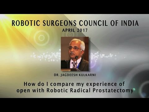 How Do I Compare My Experience of Open with Robotic Radical Prostatectomy