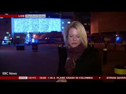 عملية تحرش مباشرة على الهواء لمراسلة BBC