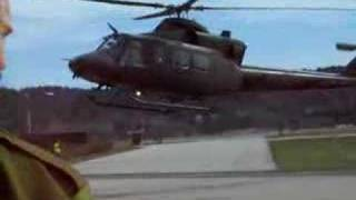 Bell 412 SP Helicopter Landing