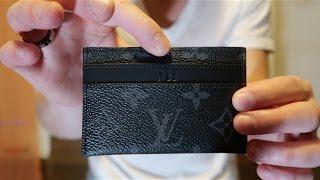 Louis Vuitton Unboxing! Porte Cartes Double Monogram Eclipse