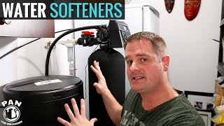 WATER SOFTENER SYSTEM : HOW IT WORKS !!