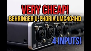 behringer umc404hd troubleshooting - Free video search site - Findclip