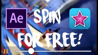 HOW TO GET AFTER EFFECTS SPIN TRANSITION ON IOS