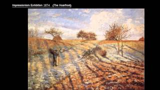 Camille Pissarro (1830-1903) Part 2/3 Art Lecture By Dr. Christian Conrad