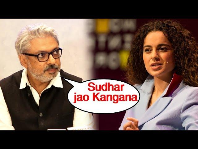 Sanjay  Leela Bhansali SLAMS Kangana Ranaut For INSULTING Journalist Justin Rao