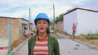 Prefeitura de Itamaraju está calçamento mais 05 ruas no Cristo Redentor