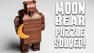 Solving The Japanese MOON BEAR Puzzle!!