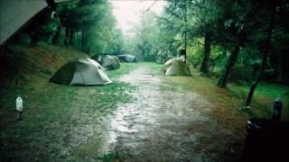 2 Stunden Regen im Zelt Einschlaf sounds | 2 Hour of Rain on a Tent Sleeping Sounds