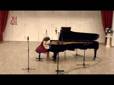 Шопен. Большой Блестящий вальс Ми-бемоль мажор op.18. М. Мишина (фортепиано)